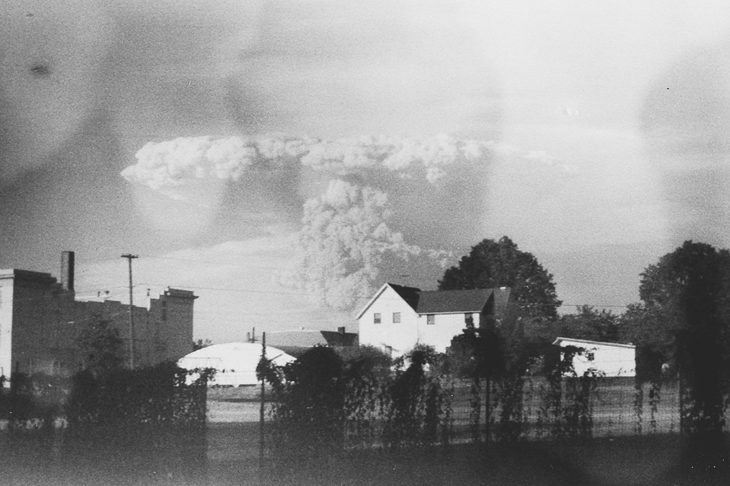 Mount St. Helens Eruption Photos