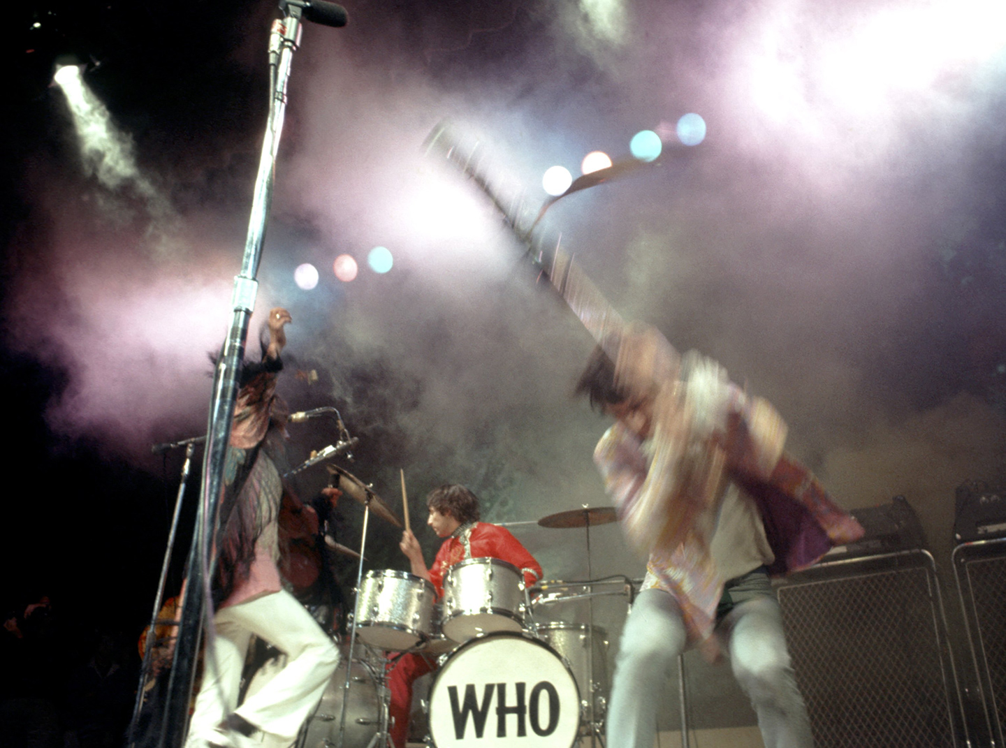 The Who at Monterey Pop Festival
