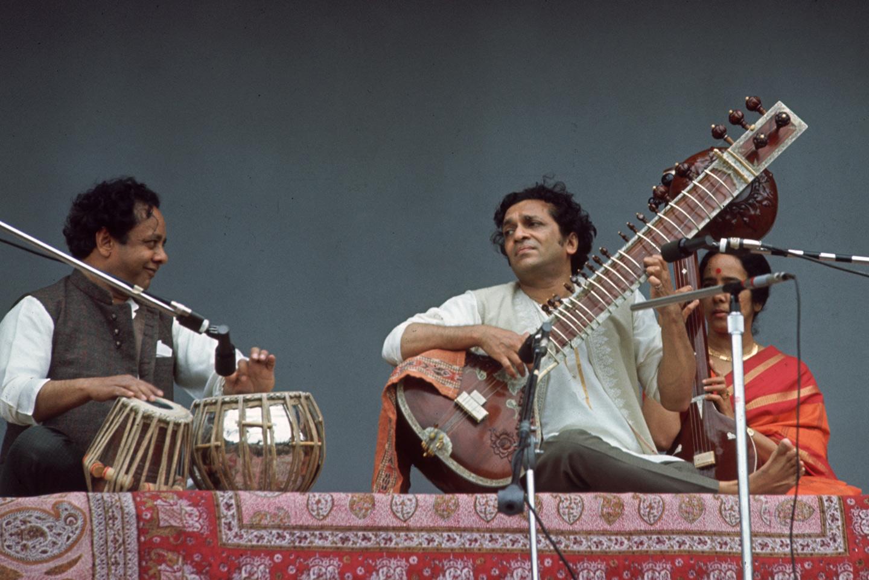 Ravi Shankar at Monterey Pop Festival
