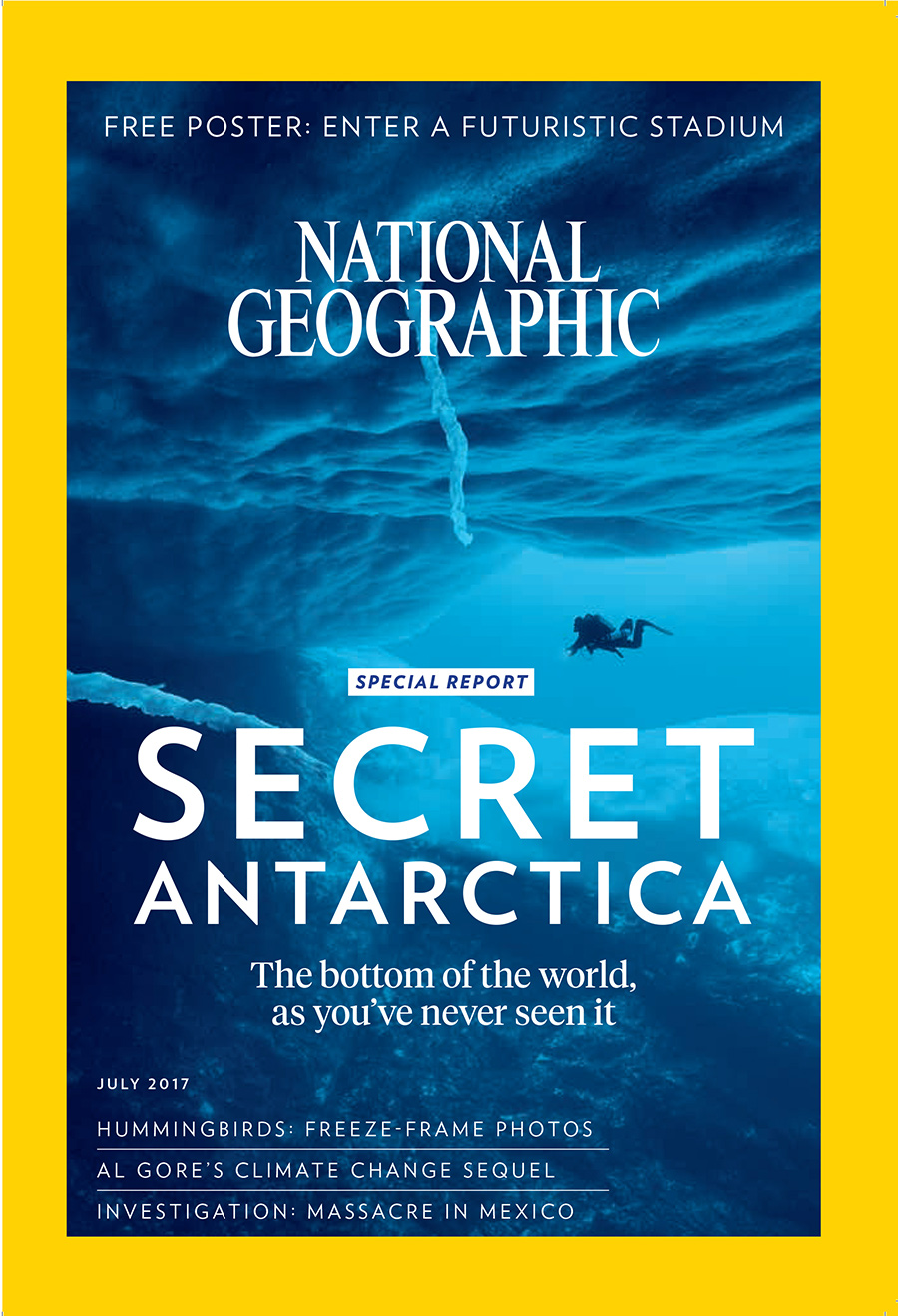 July issue of National Geographic magazine