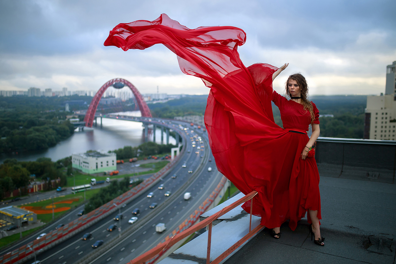Alexander Remnev Rooftop Girls