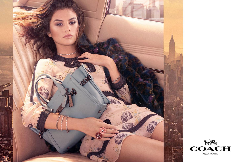Selena Gomez Coach Fall 2017 Campaign