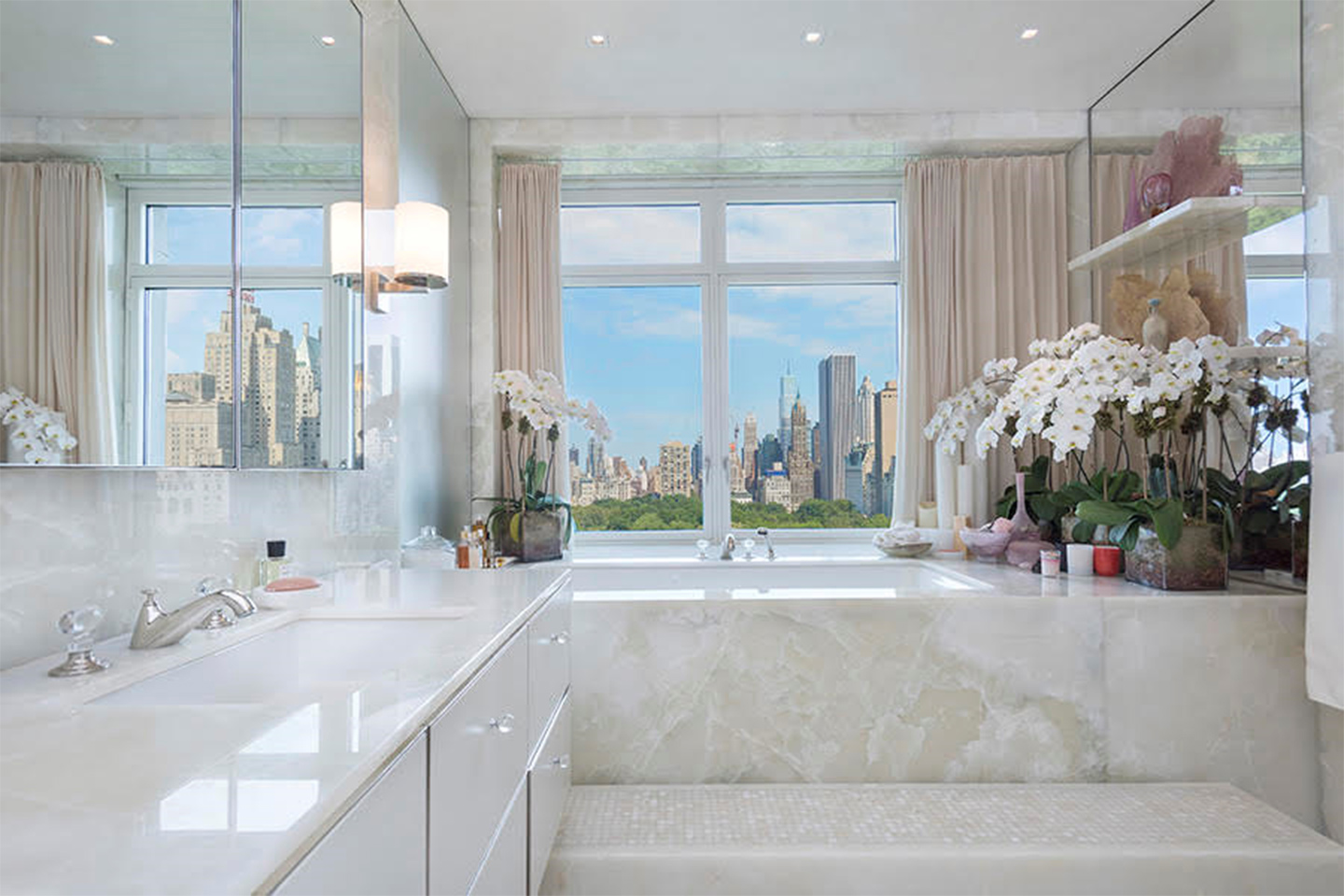 Sting selling central park penthouse for 56 million for Central park penthouses