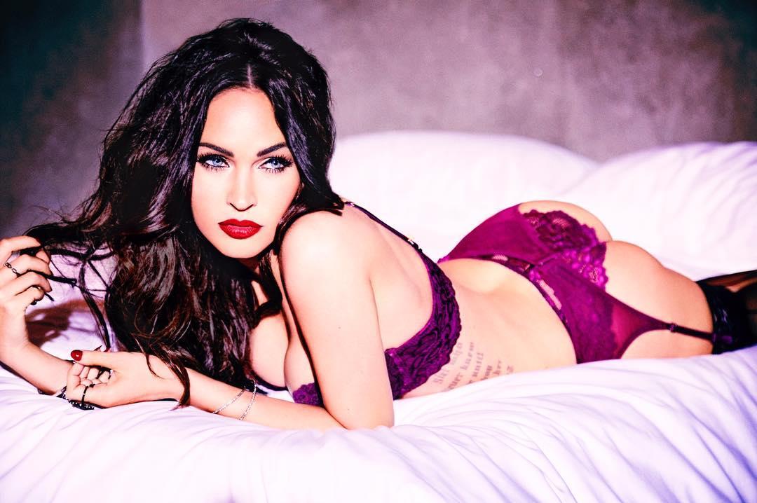 Megan Fox Models Her Fredericks of Hollywood Lingerie on Instagram