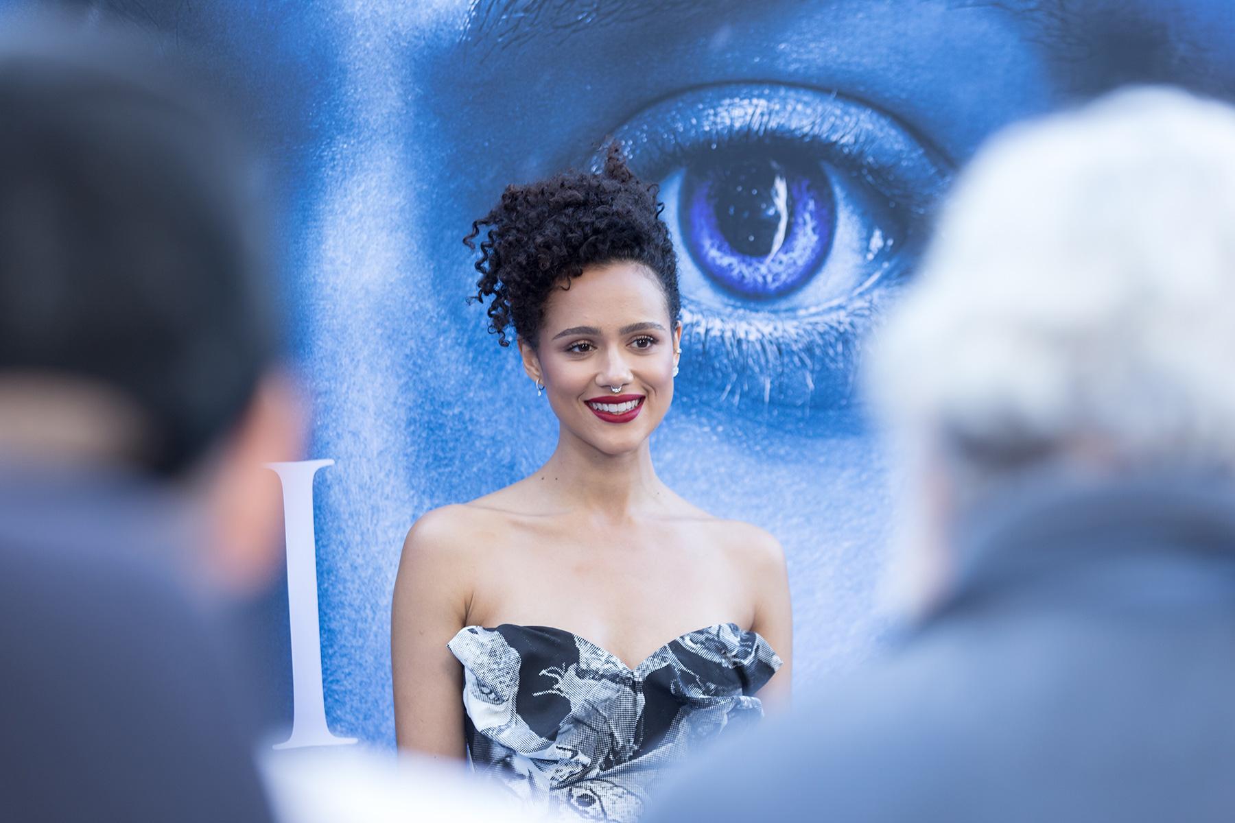 Nathalie Emmanuel of 'Game of Thrones' Is a Stunner