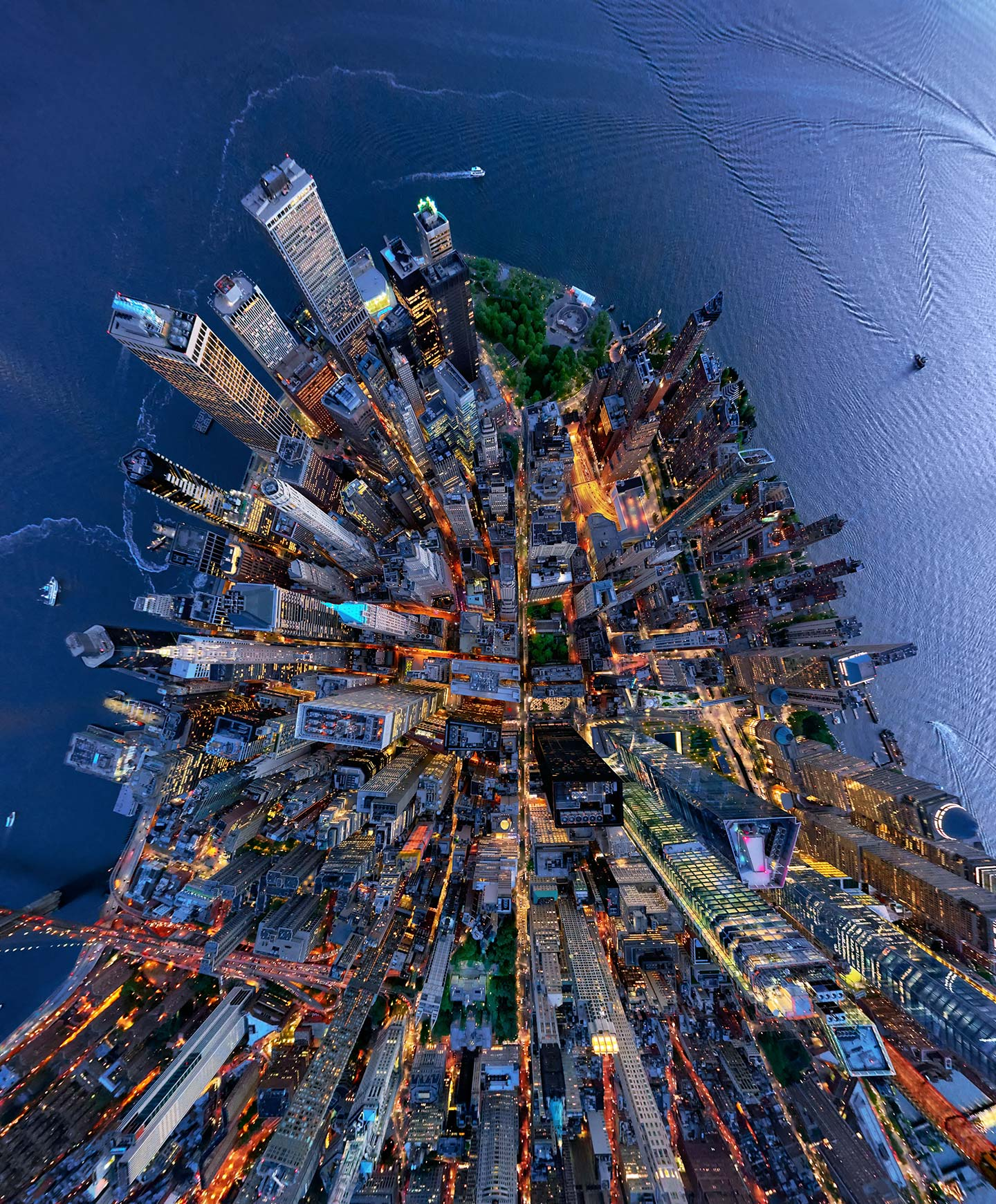 Aerial Photographer Captures Unique Perspective Of New