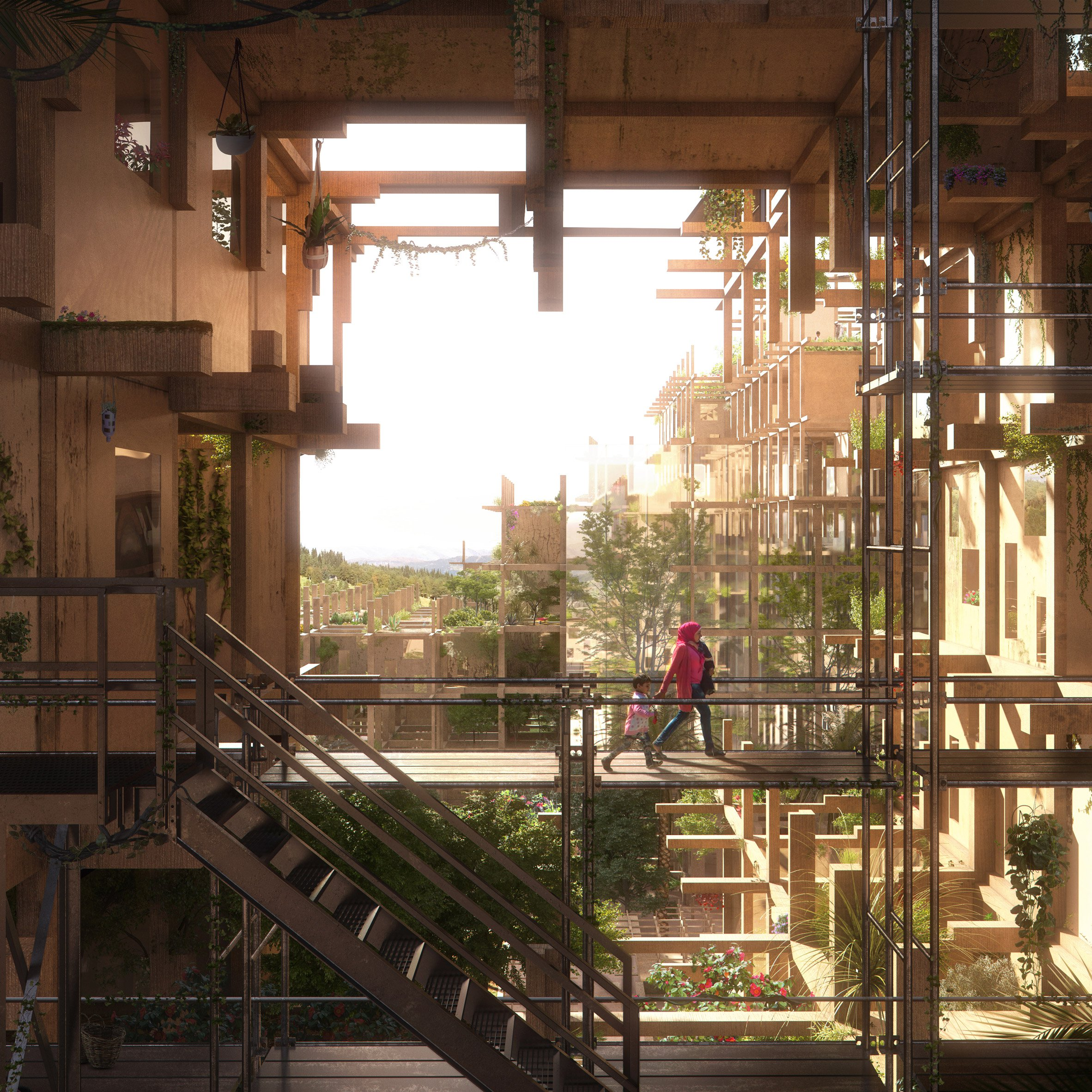 ... Shelter On The Edge, Aleppo, Syria, By Design And More International  (World Architecture Festival) ...