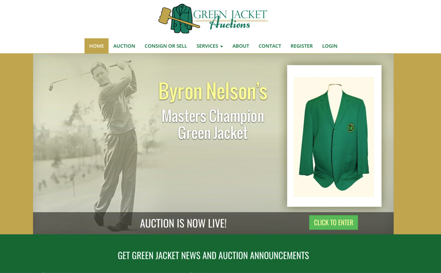 Augusta National Golf Club Sues Auction House Selling Green Jackets