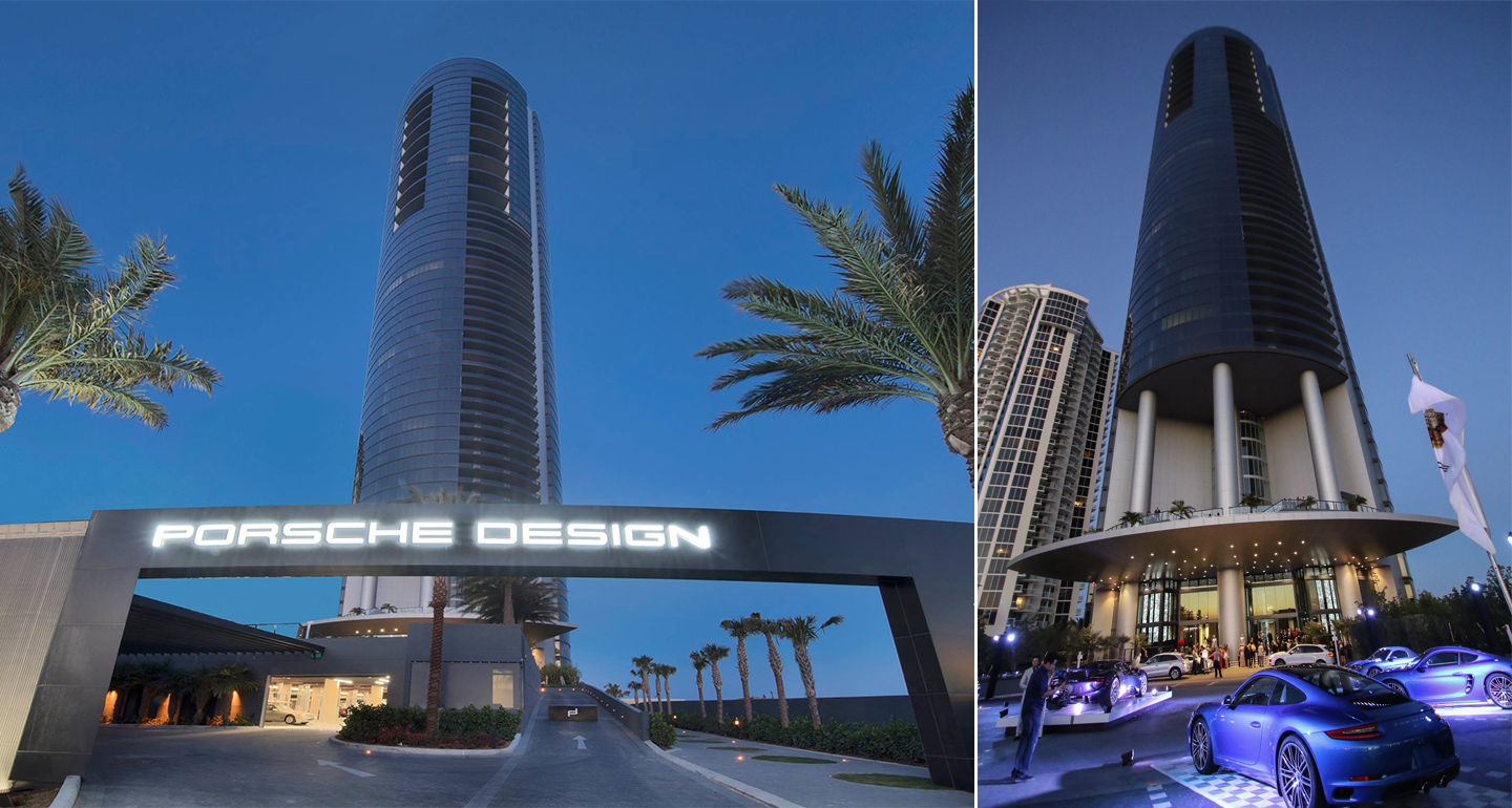 The 840 Million Porsche Design Tower Is The Ultimate In