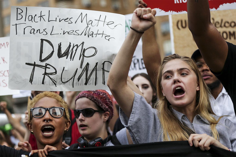 Trump Protest New York City