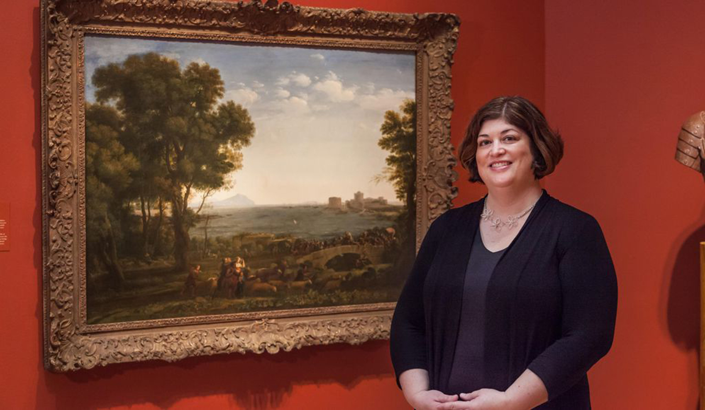 Karen Daly solved a Nazi-era mystery about this painting.