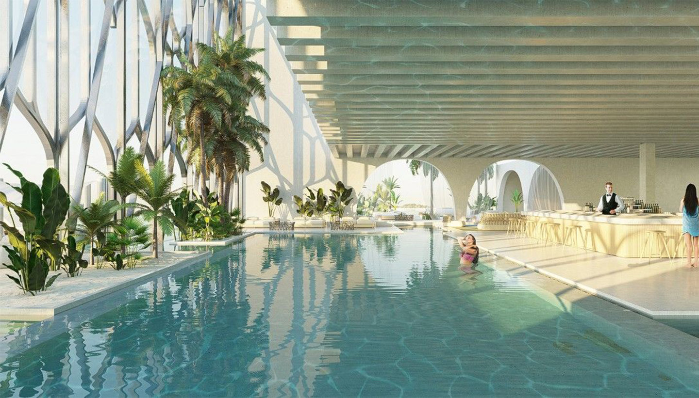 Dubai's Plans to Build a Floating Replica of Venice
