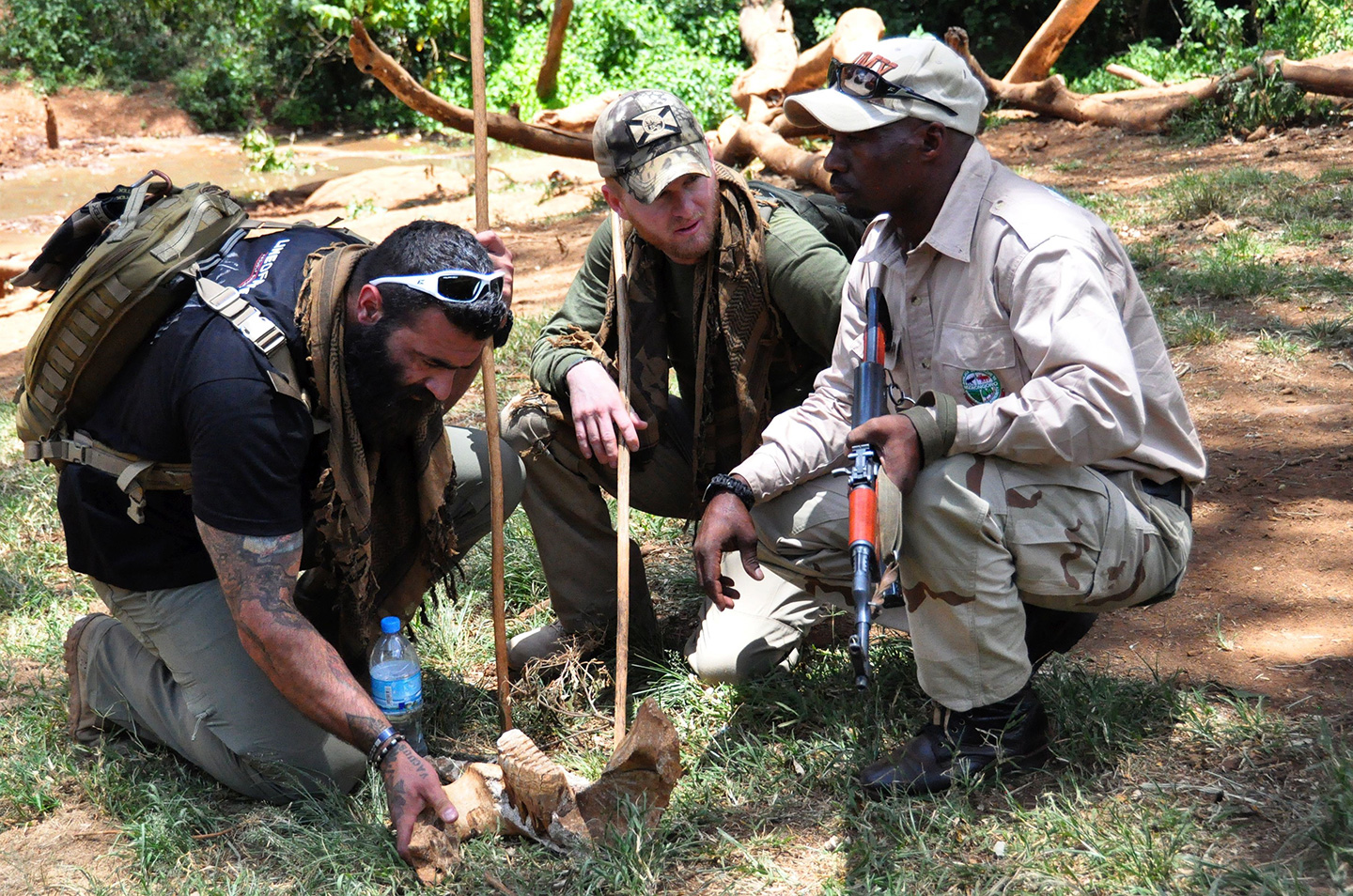 Meet Ryan Tate, the Ex-Marine Fighting Poaching on Tusk at a Time