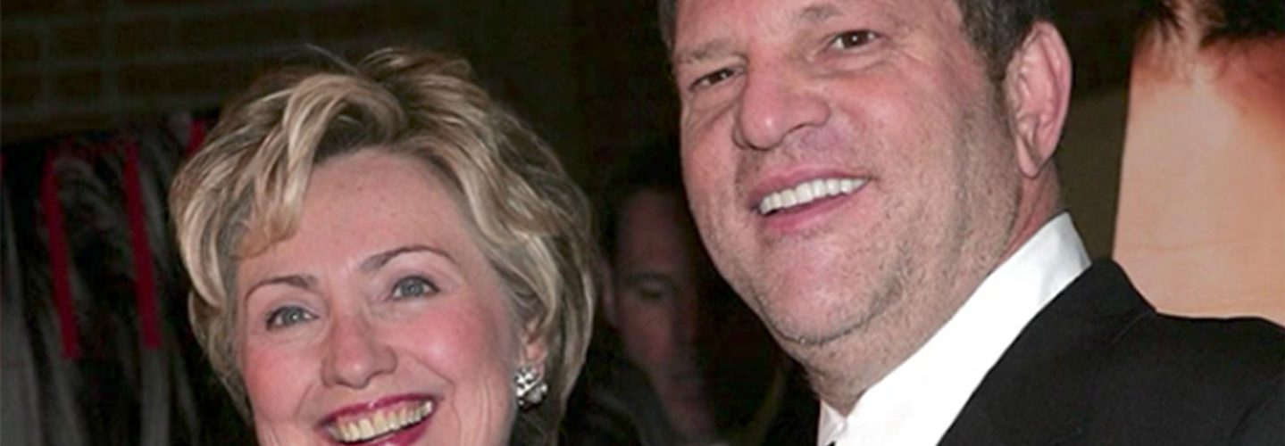 Clinton Foundation Will Not Return Money Donated by Harvey Weinstein