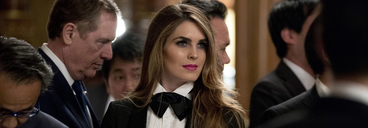 The Fashion World Takes Interest in Hope Hicks