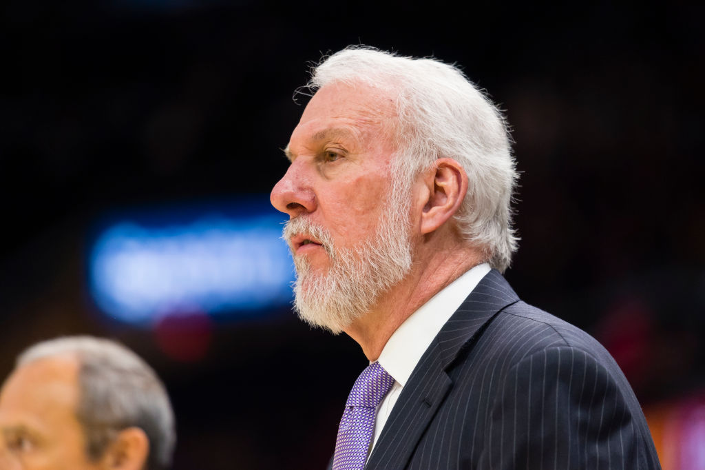 Death of Gregg Popovich's Wife Erin Casts Shadow Over NBA Playoffs