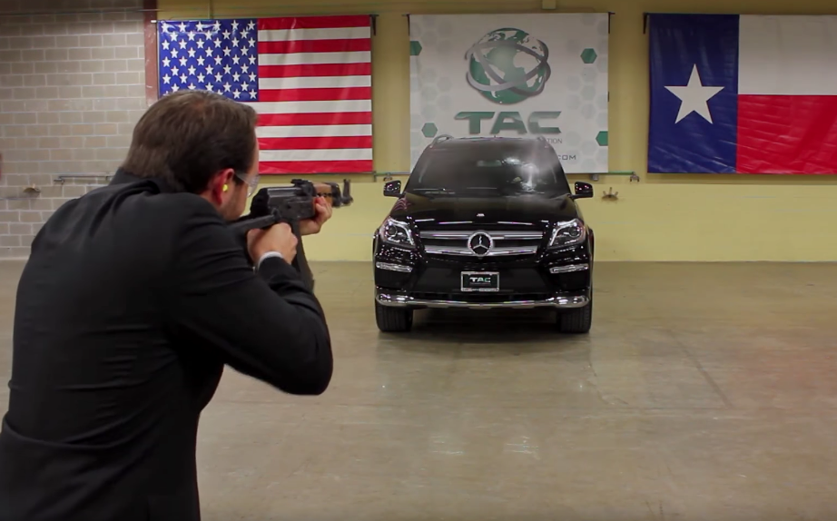 Watch a CEO Get Shot at by an AK-47 to Endorse His Product