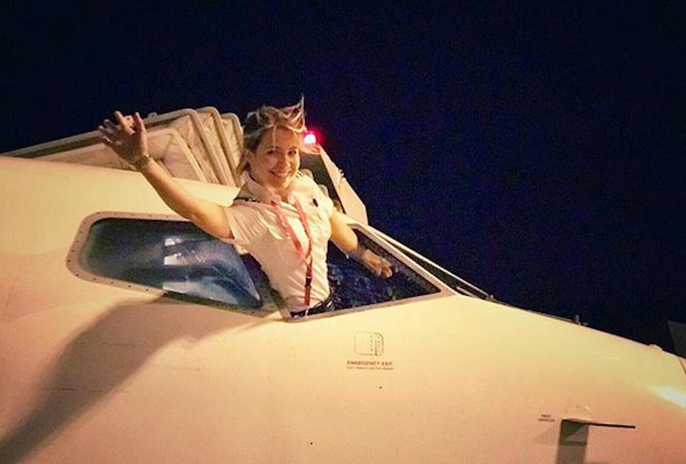 Meet Eva Claire Marseille, Airline Pilot and Instagram Inspiration