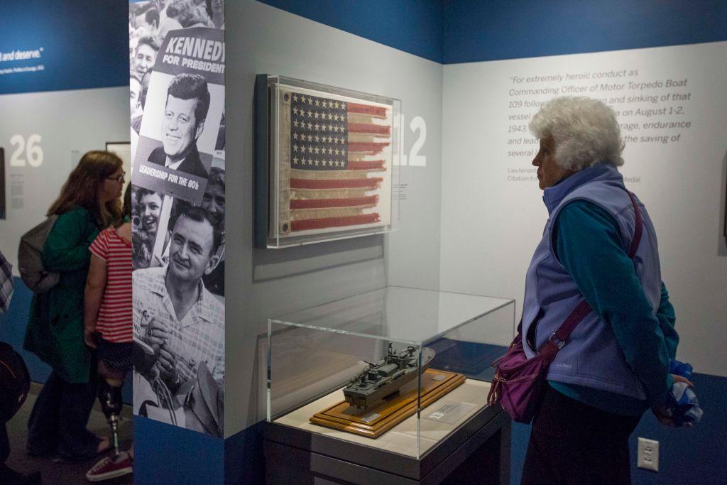bc80eca08f2 John F. Kennedy Presidential Library Marks 100th Anniversary Of ...