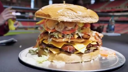 Can You Pass the Gridiron Burger Challenge?