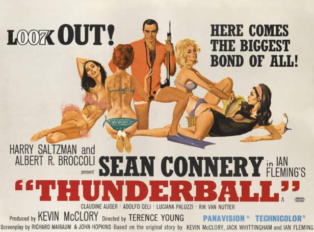 For Your Eyes Only: A Cache of Classic Bond Posters Is Up for Grabs