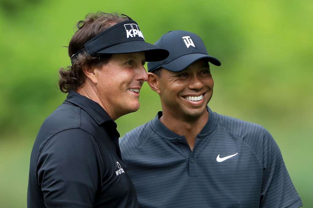 Odds Released for $9 Million Tiger Woods vs. Phil Mickelson Showdown