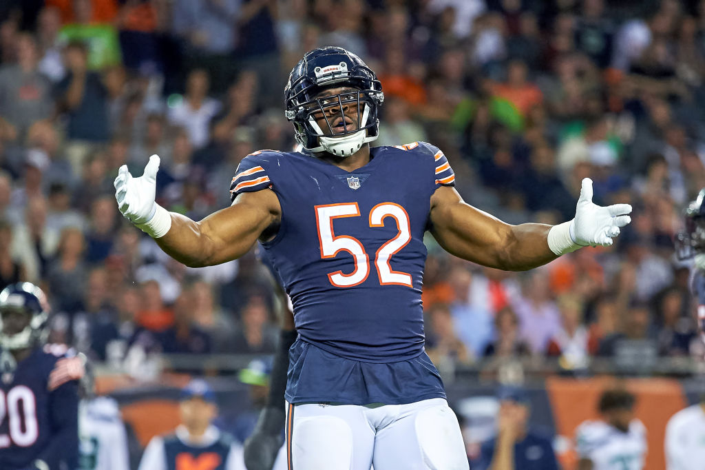 Belichick Rejects Khalil Mack Being Same Class of Player as Lawrence Taylor