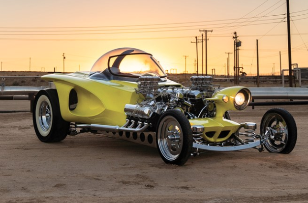 Part Mars Rover, Part Muscle Car, 100% Up for Auction: The Mysterion Recreation