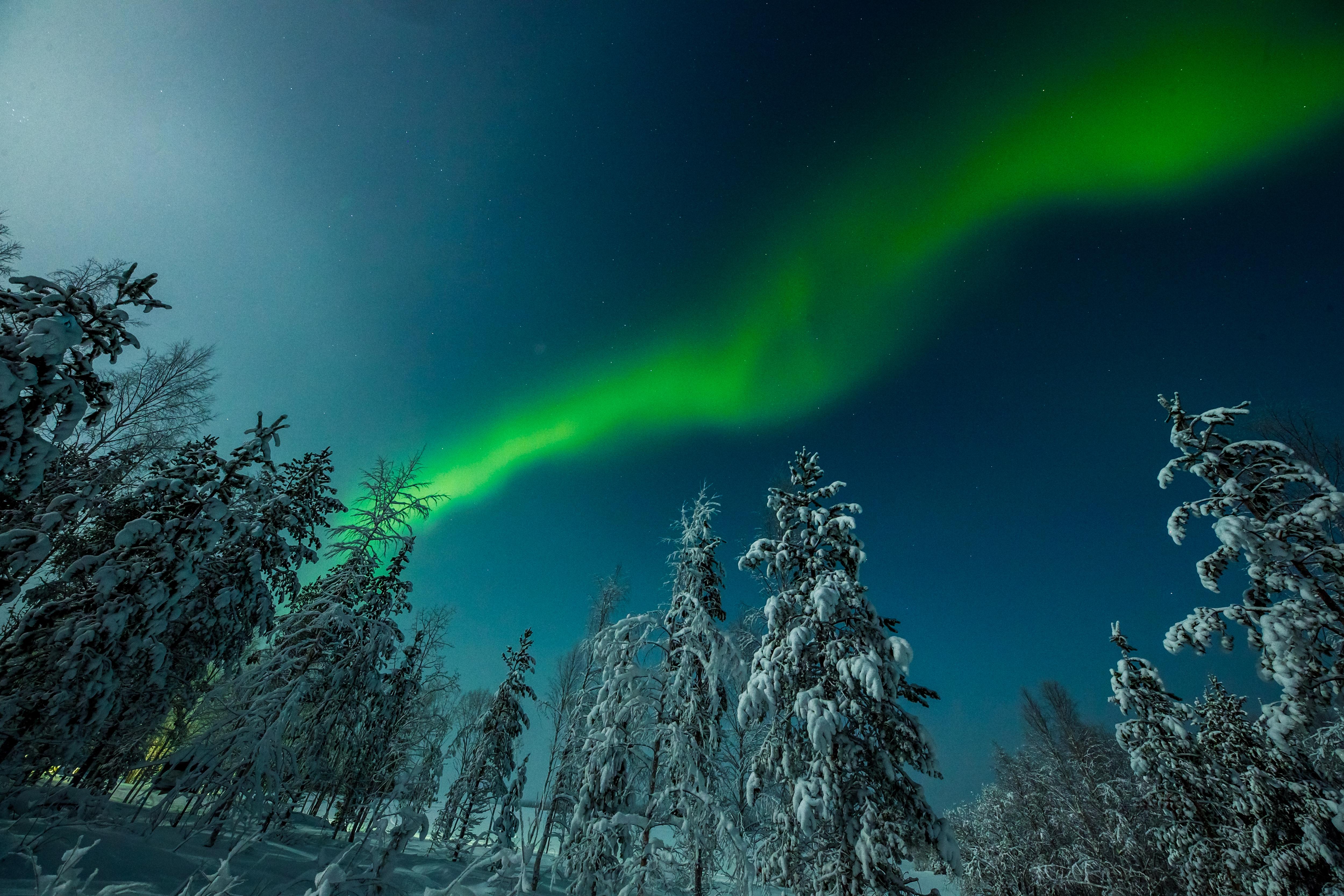 Aurora Borealis, or Northern Lights