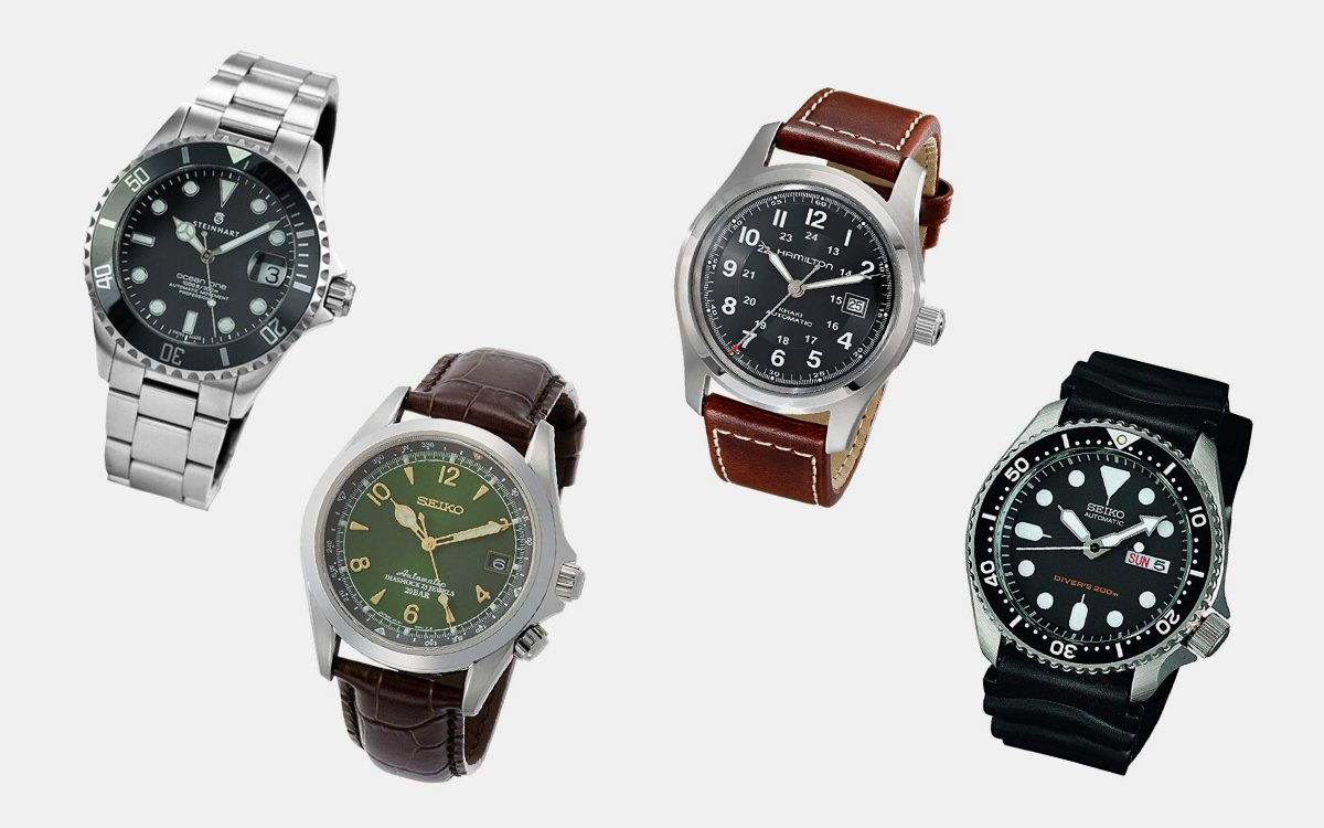 The 5 Best Automatic Watches for Under $500