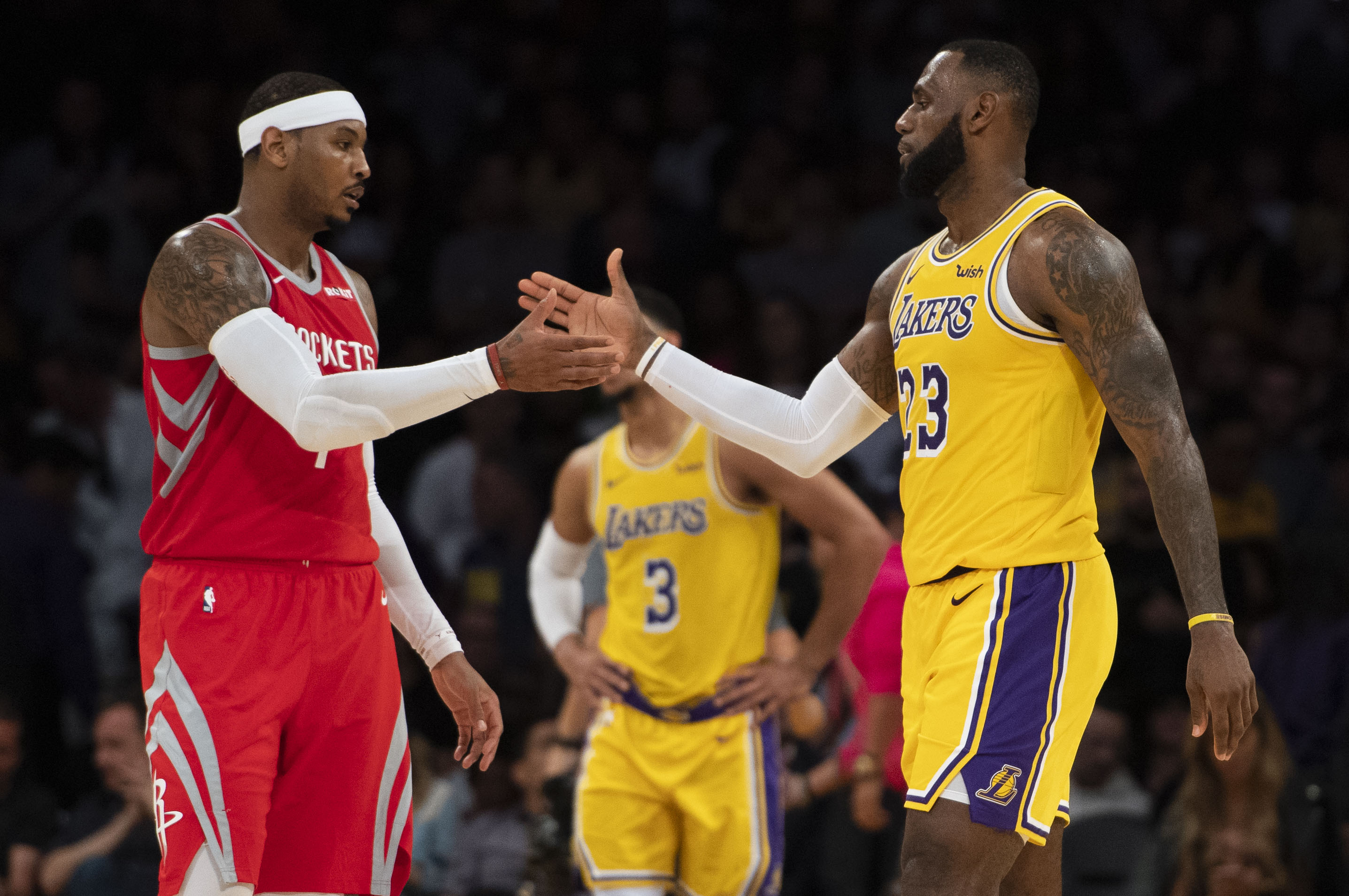 LeBron James Rumored to Want Carmelo Anthony as Lakers Teammate