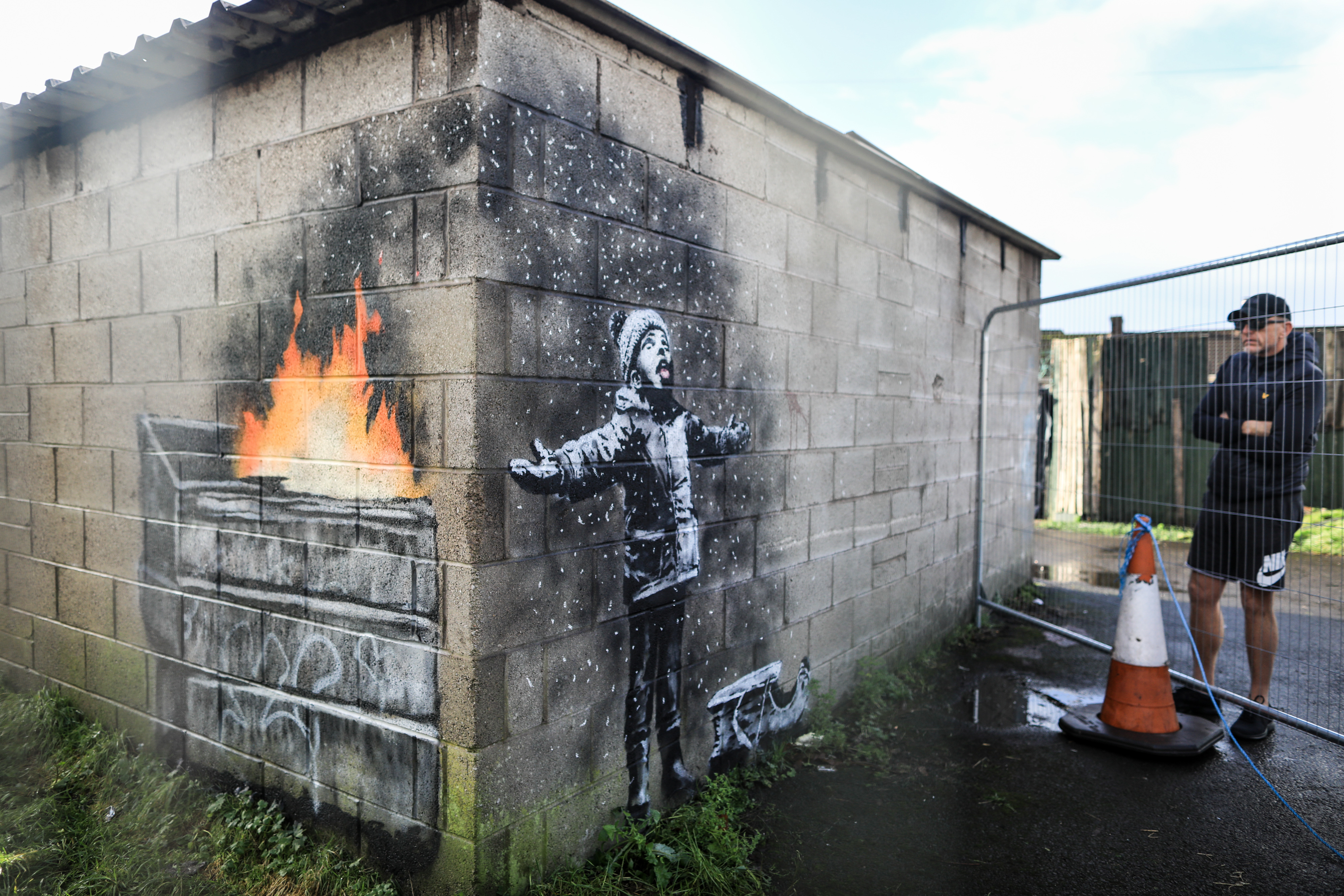 Banksy Sends Environmental Message With New Street Art